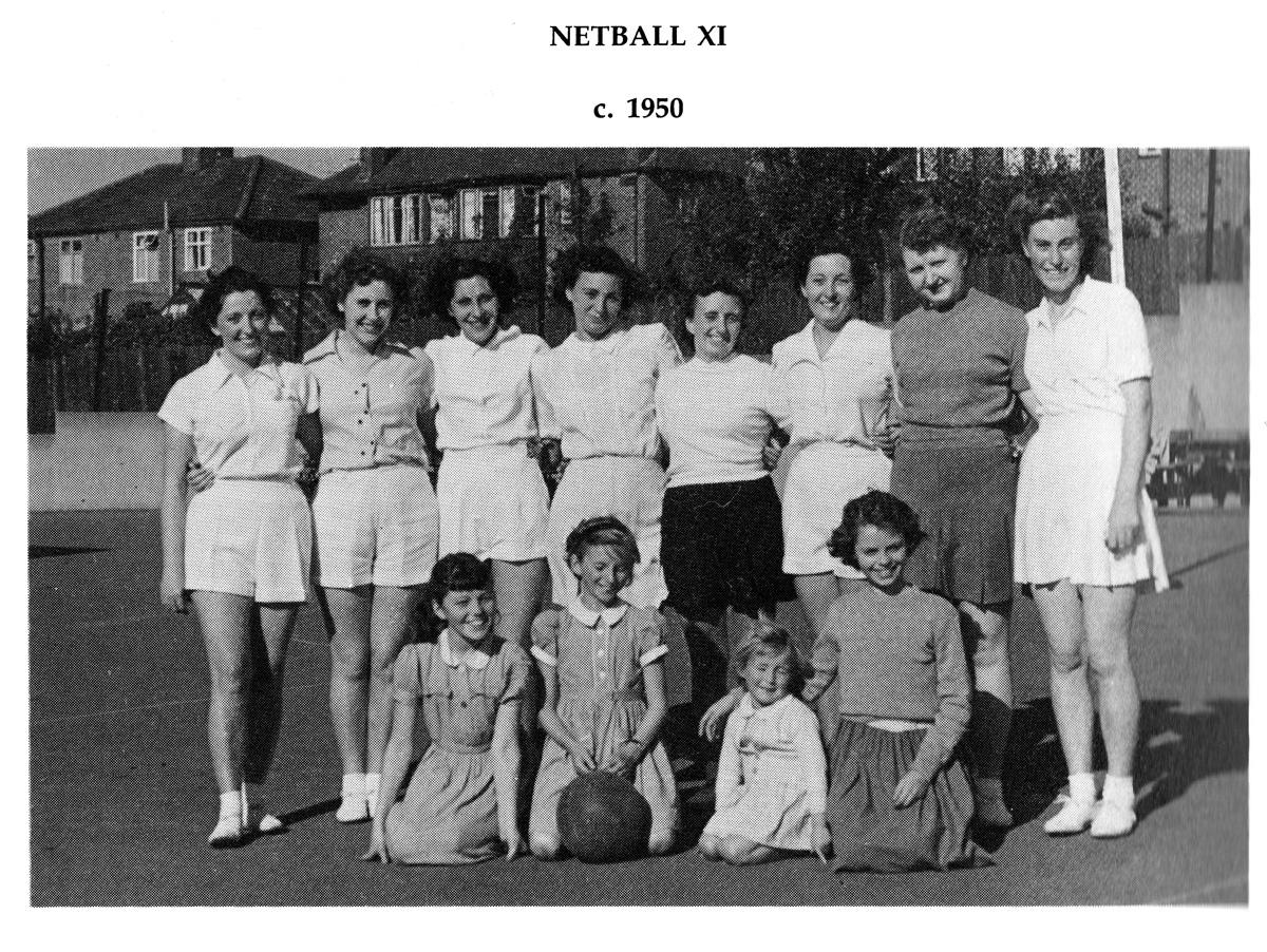 Ivanhoe Netball Team 1950
