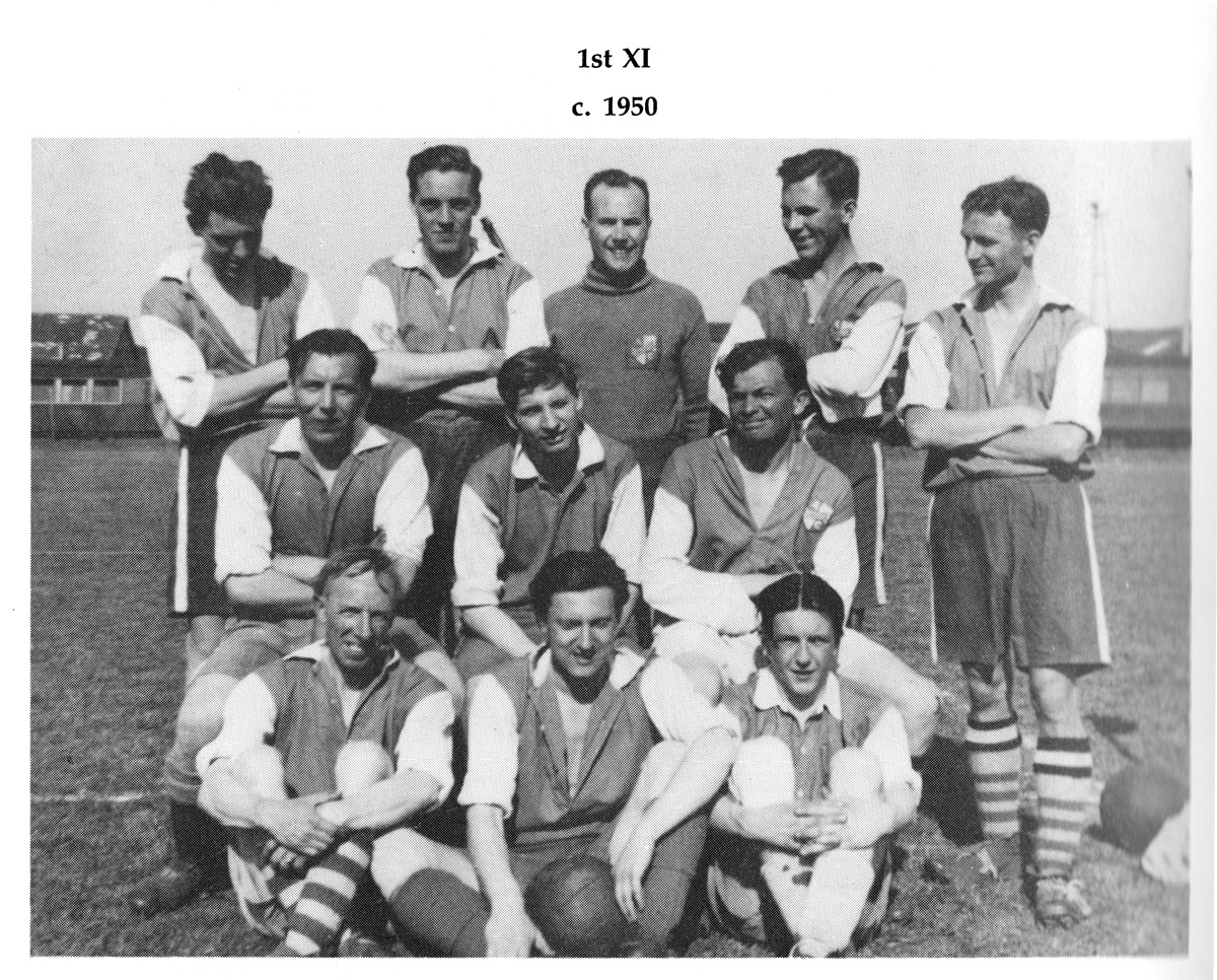 Ivanhoe Athletic Football Team 1st 11 1950