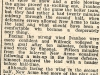 Ivanhoe FC Newspaper clipping - Stanley Tooth