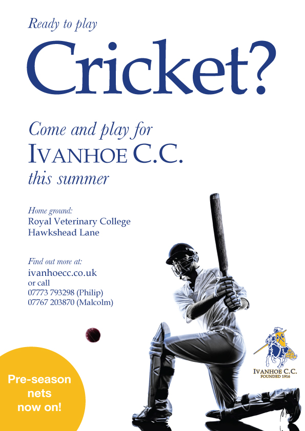 play cricket for ivanhoe cc